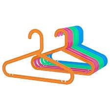 БАГИС <b>Плечики детские</b> - разные цвета разные цвета - IKEA