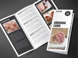 Marketing Brochure Design Promotional Brochure Trifold Brochure Photography Brochure 2 Fold Flyer Brochure Template Marketing Kit