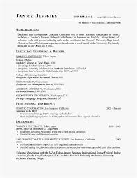 21 High School Student Resume Templates No Work Experience Gallery