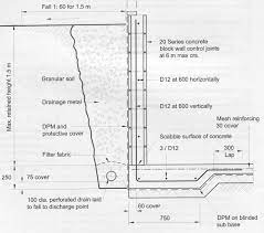 concrete block retaining wall costings uk