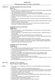 Embedded Software Engineer Resume 17774 Communityunionism