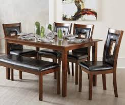 Square Furniture Dining Room Varnished Iron Wood Long Dining Table Dining Room Table With Bench Seats