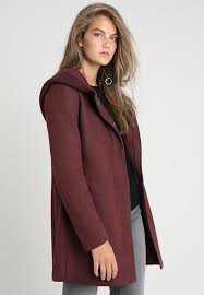 onlsedona short coat chocolate truffle melange