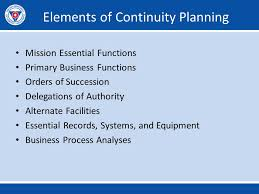 Vdem Organizational Chart Developing Continuity Plans The Vdem Model Ppt Video