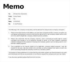 Sample Memo Memorandum Sample Business Word Memo Memo Template