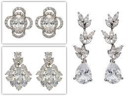 kate middleton's royal wedding look bridal earrings and barett by Wedding Jewelry Tejani get kate middleton's royal wedding look bridal earrings and barett by tejani weddingbee jewelry tejani