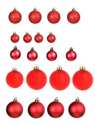 <b>Набор шаров</b> с верхушкой <b>Christmas</b> Goods 47шт Red Mix ...