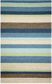 decorating cookies ideas stripe indoor outdoor rug blue rugs