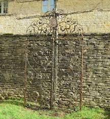 decorative garden gates. A Pair Of Very Fine Italian Antique Garden Gates Decorative
