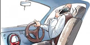 Image result for talking in cell phone while driving