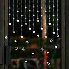 Cloom Weihnachts Stern Aufkleber Fensterbilder Für