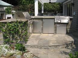 bluestone bbq outdoor wet bar outdoor kitchen stout design build los angeles ca