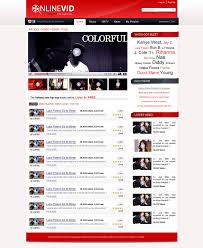 website template video free download video web template by nabinbuzz on deviantart