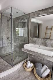 concrete bathroom floor cost contemporary cement shower sealer sink walls diy polished trueform decor bare by