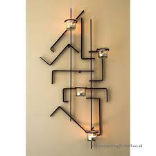 dandibo wall mounted candle holder mix4 black wall mounted candle holder metal 73 cm tea light holder b01hi47waq
