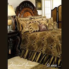 michael amini pontevedra luxury bedding set