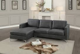 gray fabric sectional sofa. Homelegance Breaux Sectional Sofa - Gray Fabric O