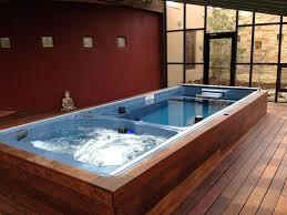 Basement Pools Oh No There S Water In The Swim Spa By Endless