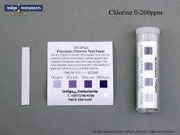 200ppm Total Chlorine