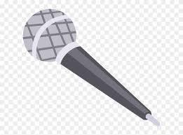 Microfono Vector Microphone Transparent Background Cartoon