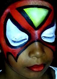 face painting paradise spiderwoman by facepaintingparadise
