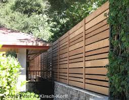 ... CA Custom Modern Horizontal Wood Fence - Pasadena, La Canada and  Flintridge, CA