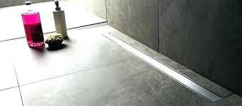 shower linear drain shower drain neodrain linear shower drain installation