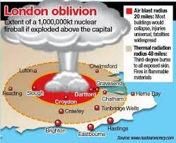 Image result for nuclear blast zones map