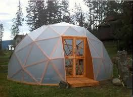 build a geodesic greenhouse diy