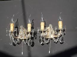 antique chandeliers brass
