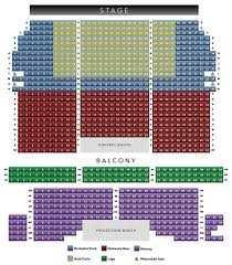 Seating Chart Riviera Theatre