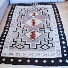 1890 s antique native american navajo rug two grey hills region