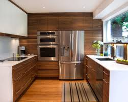 awesome mid century modern kitchen cabinets of brown striped carpet and stainless steel superbliances