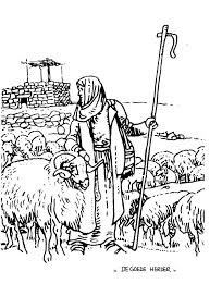 Bijbelse Kleurplaat De Goede Herder Lesejahr B 4 Sonntag In Der