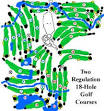 White Pines Golf Club-East - Layout Map | Illinois PGA