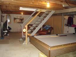 HouSeOnaShoestring Unfinished Basement Decorating - Ununfinished basement before and after