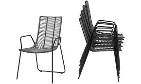 dining chairs elba chair for in and outdoor use grey