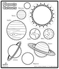 Printable Solar System Coloring Sheets for Kids!   Solar system ...