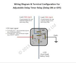 12v adjustable delay timer relay (delay on off) 12 volt planet 12V Starter Relay Wiring Diagram 12vdc Relay Wiring Diagram #15