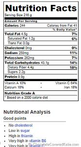 Cheese Nutrition Chart Skinny Mac And Cheese Nutrition Facts Chocolate Covered Katie