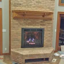 new gas fireplace and chimney in wi