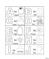coloring pages ~ Worksheet For Nursery Alphabets Abc Page Trace ...