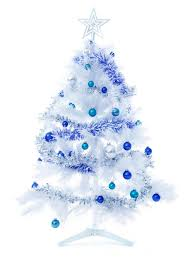 ... decorating a blue & white Christmas! View in gallery