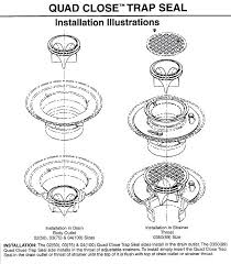 drain sealing quad close installation instructions leaking drain in bathroom sink drain sealing bathtub
