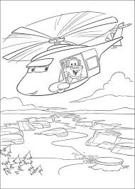 Kleurplaat Takel Van Cars Wordt Met De Helicopter Vervoerd 9347