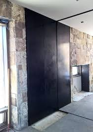 concrete wall panels exterior temporary exterior walls hot rolled steel wall panels with articulating doors high