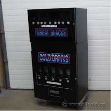 Vending Machines Calgary Simple Seaga Coin Operated Snack And Drink Combo Vending Machine Allsold