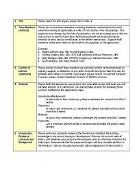 Academic Project Proposal Template