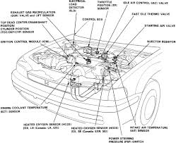 similiar 2002 honda accord engine diagram keywords 1993 honda accord engine diagram warning make sure engine is cool