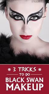 3 tricks to do black swan makeup more
